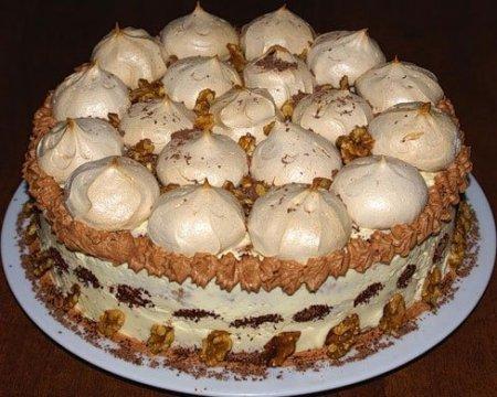 Торт рецепт безе в домашних условиях