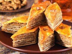 турецька пахлава рецепт