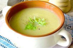 суп з селери рецепт