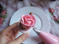 Крем для розочек на торт - Как