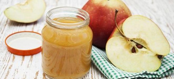 Пюре из яблок для грудничка на зиму рецепт