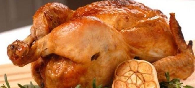 Курица в духовке с майонезом и чесноком и картофелем рецепт