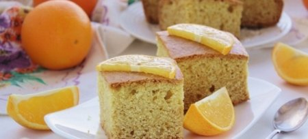 Пісний апельсиновий манник в духовці і в мультиварці - рецепти з соком, цедрою і з часточками